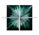 Abstract Metal Wall Art with 3D Effect for Home Decor (CHB808029)