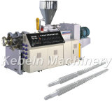 55/113 Conical Twin Screw Plastic Extruder, Plastic Extrusion Machine