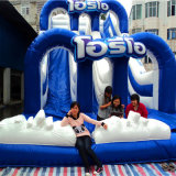 Inflatable Happy Slide Inflatable Cartoon Theme Slide