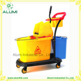 Cleaning Cart for Hotel and Restaurant Using Cleaning Trolley