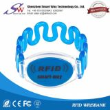 Soft Waterproof RFID Plastic Wristband