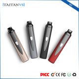 1300mAh Mini Titan Vaporizer Ceramic Chamber Heating Dry Herb Vape Vapor Pen Kit