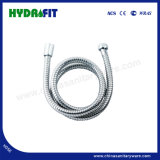 No Extensible Single Lock Stainless Steel Flexible Shower Hose (HY6001)