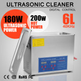 Brand New 6 Liter Stainless Steel Digital Ultrasonic Cleaner W/ Bracket & Drainage System
