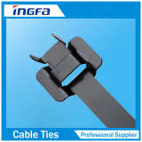 PVC Epoxy Coated 316 Grade Stainless Steel Releasable Cable Tie