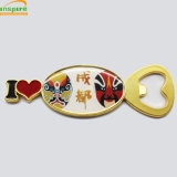 Brand New Design of Chengdu Feather Bottle Opener with Magnet/Key Chain for Souvenir
