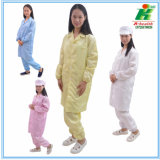 100% Polyster Lab Anti-Static ESD Safety Work Wear Coverall for Cleanroom