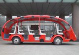 2017 New Electric Sightseeing Car Tour Bus Safe Electric Vehicle