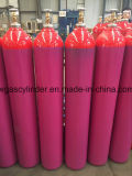 ISO9001: 2008 47L Red and Purple Color Cylinder Export to Europe