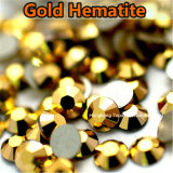 Fashion 4A Grade Non Hot Fix Crystal Rhinestones for Dance Dress (FB-SS20 gold hematite)