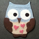 Cute Owl Design Decoration Play Carpet for Kid and Children
