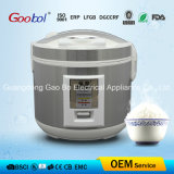 Square Panel Deluxe Rice Cooker with Silver Color