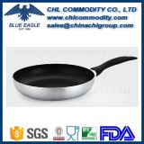 Food Grade Hard Anodizing Aluminium Frying Pan with Bakelite Handle