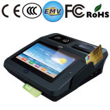 "7"" Capacitive Touch Screen Restaurant POS Terminal with Standard Paper Roll 58mm Printer"