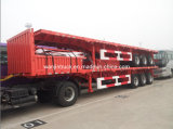 Best Price! ! ! Three Axle 40FT Flatbed Semi-Trailer with 600mm Sidewall