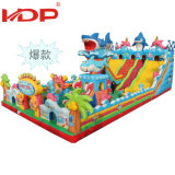 Proper Price Kindergarten Water Park Giant Inflatable Slide