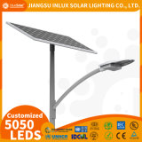 Cheap Long Lifespan CE/IEC/RoHS Certified LiFePO4 Battery OEM 5050 LED Chip Outdoor Solar Powered Street Light with Patent Design