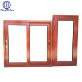 Cheap Aluminum Awningframe Tempered Sliding Glass Window