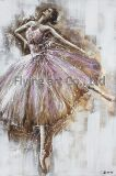 Clorful Oil Painting Home Decoration for Graceful Dancing Lady