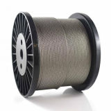 Ss 316 Stainless Fishing Wire Cable 1X19 Steel Rope Price