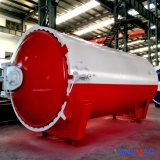 2500X5000mm ASME Certified Industrial Rubber Vulcanizating Autoclave with Full Automation