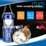 2018 Hot Sale Rechargeable Solar LED Tent Lamp&Solar LED Camping Lantern with Charger
