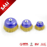 with MPa Certificates Wire Thickness 0.3/0.35 mm Crimped Steel Wire Brush