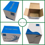 Blue Glossy Corrugated Paper Box (FP2267)