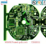 Lamp PCB Fr4 Copper Thickness Printed Circuit Board Metal Detector PCB Board with Green Oil