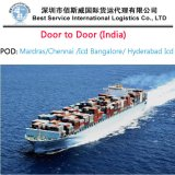Ocean Shipping Service as Full Container to Hyderabad India