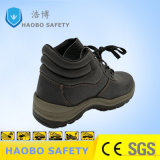 High Quality Buffalo Leather Safety Footwear Work Shoes