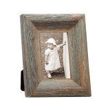 Wooden Desktop Photo Frame with Distressing Finish