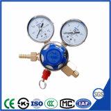 Filling CO2 Pressure Regulator with Ce