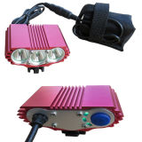 3 CREE LED Bicycle Lights with 4X18650 Battery Pack