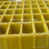 FRP Fiberglass Gritted Grating /Composite Anti-Slip Grating with Quartz Sands
