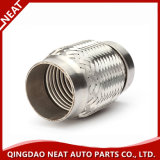 Exhaust Flexible Pipe with Inner Thread Outer Braid