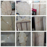 Natural Stone White Jade Marble for Background Landscape