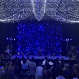 4X4m Bw LED Star Curtain Decoration Twinkle Cloth for Party Event Background