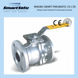 Manual Operated Flanged End High Mounting Pad Ball Valve