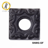 SNMG-GF Tungsten Carbide Inserts Auto Parts Turning Inserts Cutting Tools
