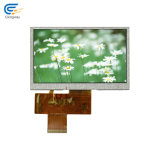 4.30 Inch 12: 00 24bit RGB TFT Display LCD Screen