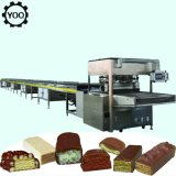 C1849 Hot Automatic Wafer Biscuit Chocolate Coating Production Line/Small Chocolate Enrobing Machine