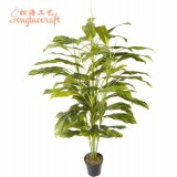 H: 150cm High Quality Guangzhou Factory Artificial Evergreen Tree