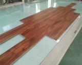 Indoor Teak Laminate WPC Flooring for Home Decoration