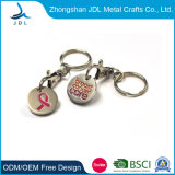 Promotional Custom Design Generic Union Jack Trolley Coin Personalized Soft Enamel Metal Trolley Coin Holder (57)