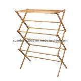 Bamboo Multi-Functional Environmental Health Folding Laundry Rack