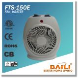 Popular 1500W/2000W High Efficiency Fan Heater with Thermostat