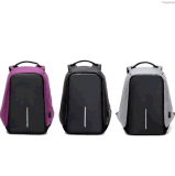 Anti-Theft Unisex Laptop Backpack Bag USB Port Travel Business Computer PC Bag