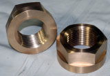 Customized Brass Machined Mount with Full Threaded