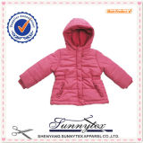 Girls and Boys Jacket with Fur Hood